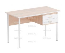 Стол преподавателя каркасный (с подвесной тумбой)
