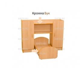"""Набор мебели игровой (спальня) """"СОНЯ"""" бук"""