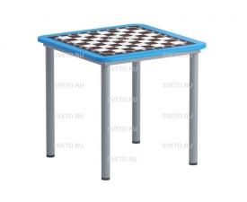 Шахматный стол на металлокаркассе