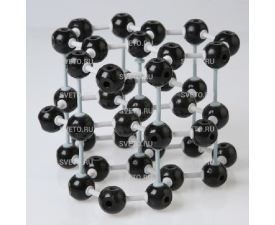 Модель кристаллической решетки графита