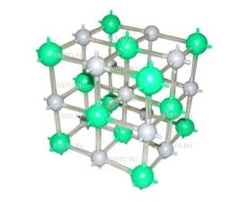 Модель кристаллической решетки хлористого натрия