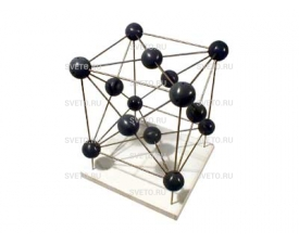 Модель кристаллической решетки железа