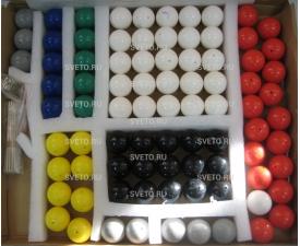 Набор моделей атомов для составления моделей молекул по органической и неорганической химии