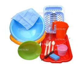 Набор «Я учусь мыть посуду»