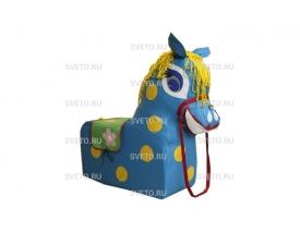 Детская игровая лошадка Маруся