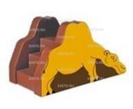 Горка «Верблюжонок» и «Кит»