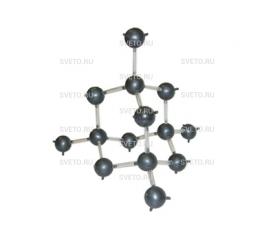 Модель кристаллической решетки алмаза