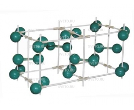 Модель кристаллической решетки йода
