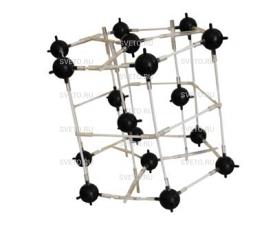 Модель кристаллической решетки магния