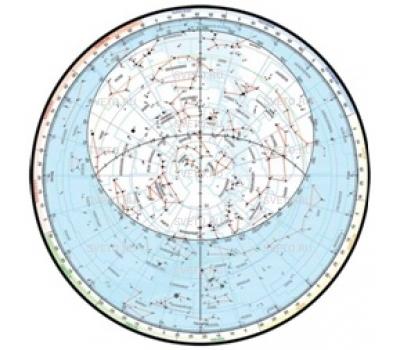 Подвижная карта звездного неба