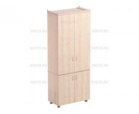 Шкаф секционный для учебных пособий (верхняя и нижняя часть с дверками)