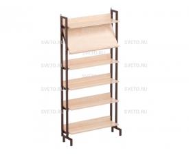 Шкаф-стеллаж комбинированный