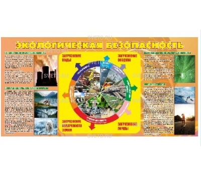 Стенд по экологической безопасности