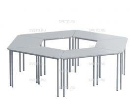 Комплект столов трапеция